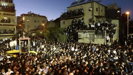 ירושלים, אמש (צילום: נתי שוחט)