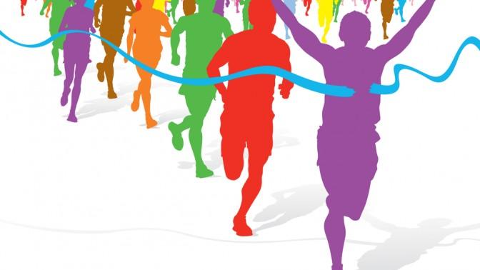 תחרות ריצה. איור: jorgen mcleman, שאטרסטוק