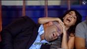"""היחצן רני רהב והזמרת ריטה יהאן-פרוז בפרק הראשון של תוכנית הריאליטי """"הכוכב הבא"""". ערוץ 2, 2.9.13 (צילום מסך)"""