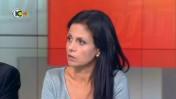 """ד""""ר יפעת ביטון בתוכנית """"המטה"""" בערוץ 10, 16.11.13 (צילום מסך)"""