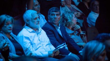 """הרמטכ""""ל לשעבר גבי אשכנזי ורעייתו רונית באירוע לציון 40 שנה למלחמת יום כיפור, 31.10.13 (צילום: אמיל סלמן)"""