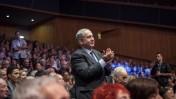 ראש הממשלה בנימין נתניהו באירוע לציון 40 שנה למלחמת יום כיפור, 31.10.13 (צילום: אמיל סלמן)