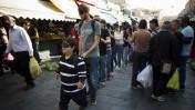 שוק מחנה יהודה בירושלים, 21.11.13 (צילום: יונתן זינדל)
