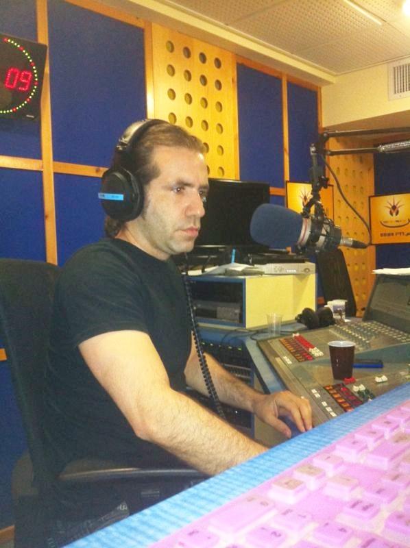 ג'לאל איוב ברדיו א-שמס (צילום: רדיו א-שמס)