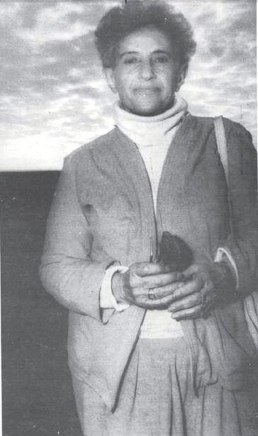 אסתר לויטן, פעילת המאבק באפרטהייד בדרום-אפריקה (צילום: ורדי כהנא)