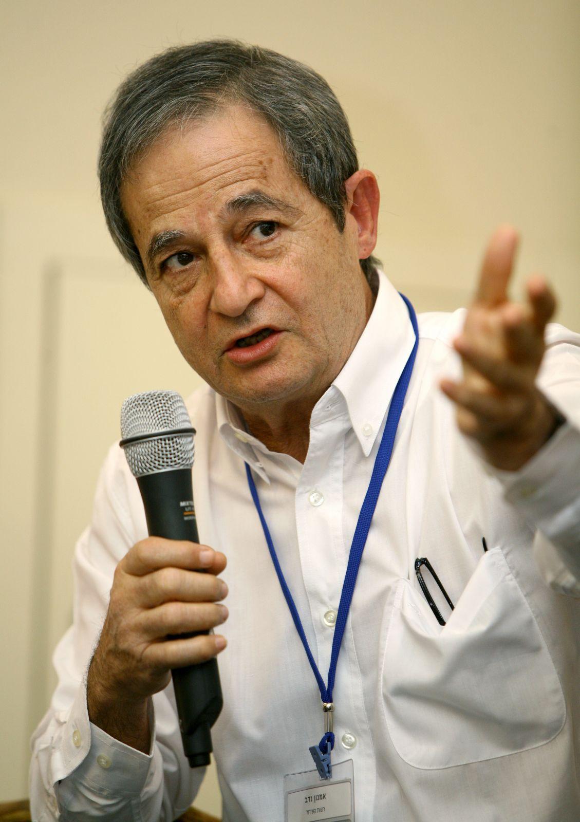 אמנון נדב, 2007 (צילום: משה שי)