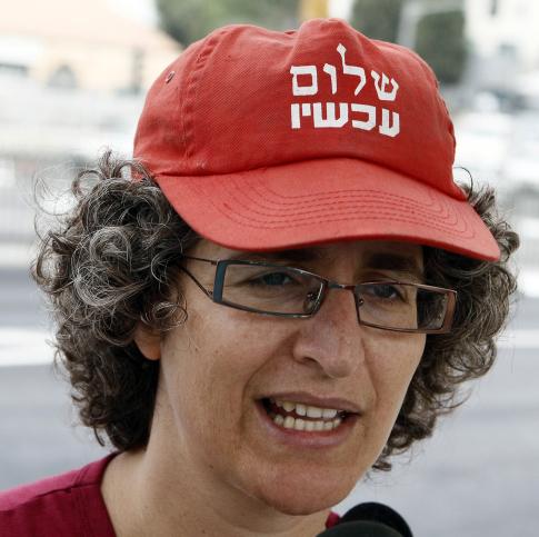 פעילת השמאל חגית עופרן, 23.9.11 (צילום: אורי לנץ)