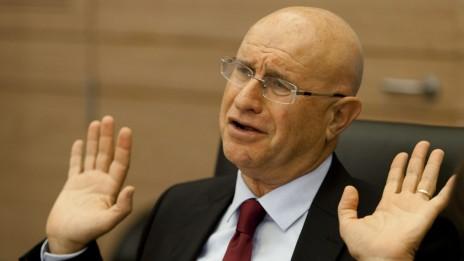 """ח""""כ ברוורמן בוועדת הכלכלה, 15.10.13 (צילום: פלאש 90)"""