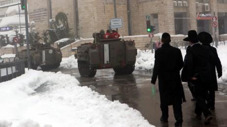 ירושלים, 14.12.13 (צילום: יוסי זמיר)
