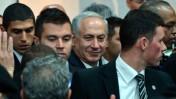 ראש הממשלה בנימין נתניהו, אתמול בוועידת הליכוד בתל-אביב. 18.12.13 (צילום: יוסי זליגר)