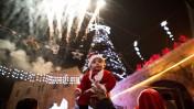 הכנות לחג המולד, בירושלים. 19.12.13 (צילום: יונתן זינדל)