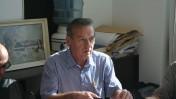 """סמנכ""""ל הגבייה של רשות השידור אבי כץ, 2.12.13 (צילום: """"העין השביעית"""")"""