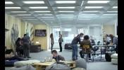 """מערכת """"סלאגליין"""" בסדרת הטלוויזיה """"בית הקלפים"""" (צילום מסך)"""
