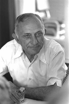 """נח מוזס, 1977 (צילום: דוד אלדן, לע""""מ)"""