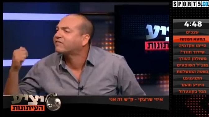 """אייל ברקוביץ' ב""""יציע העיתונות"""", יום אקראי"""