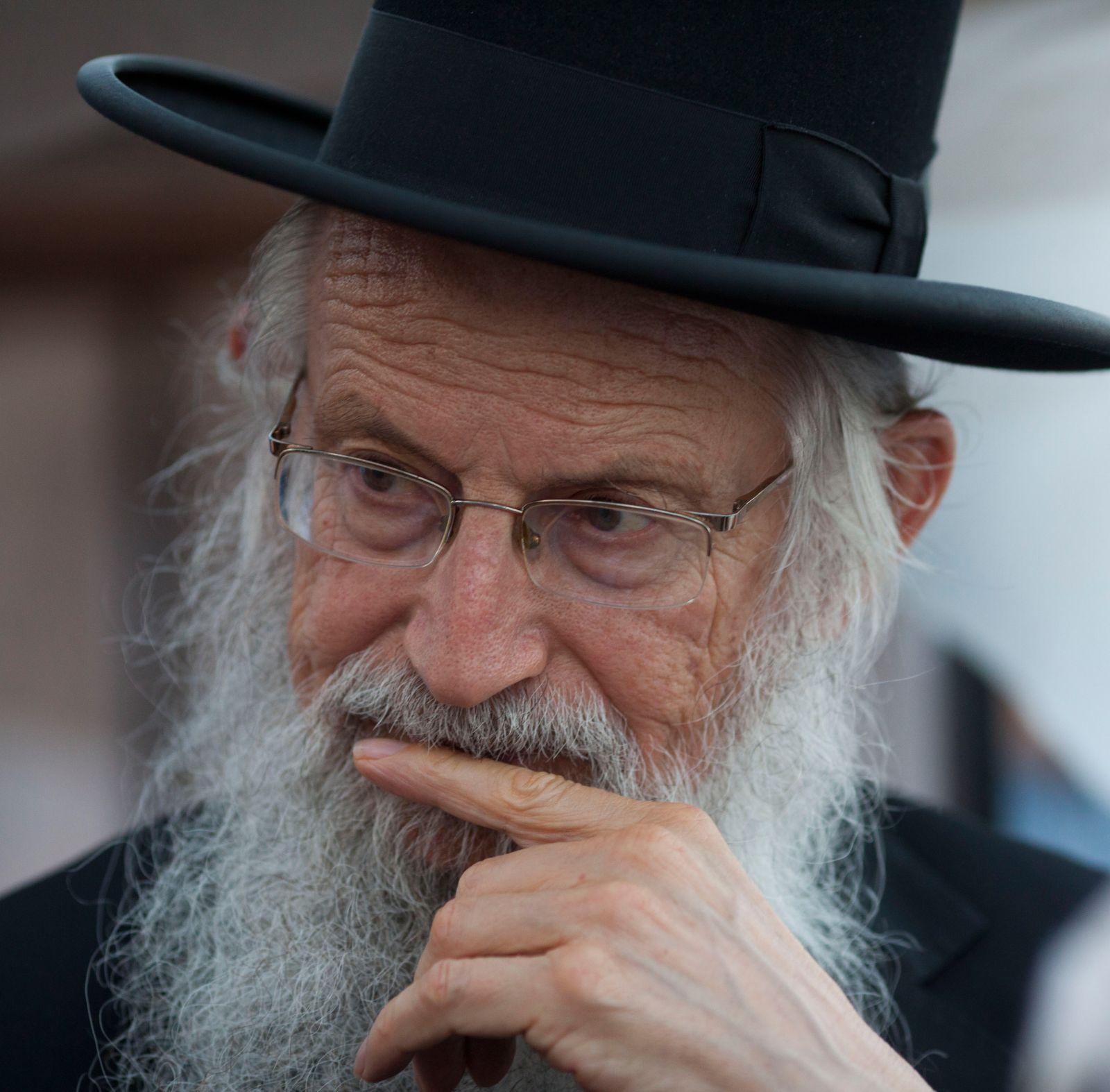 הרב זלמן ברוך מלמד. 19.6.12 (צילום: יונתן זינדל)