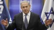 ראש הממשלה בנימין נתניהו בישיבת סיעת הליכוד אתמול בכנסת, 6.1.14 (צילום: מרים אלסטר)