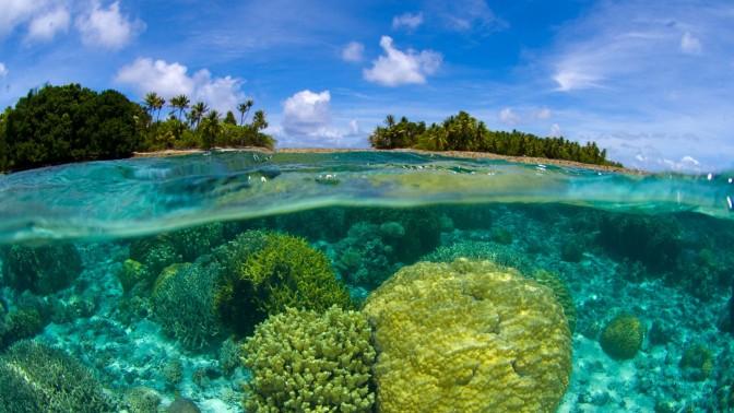 נוף באיי מרשל (צילום: שאטרסטוק)