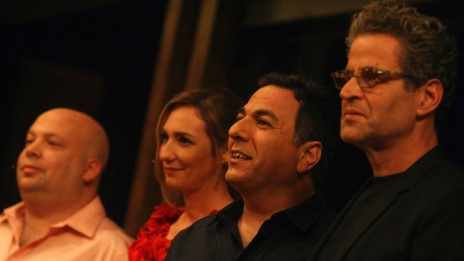 """שפים בתוכנית הריאליטי """"מאסטר שף"""". משמאל: יונתן רושפלד. 24.9.11 (צילום: קובי גדעון)"""