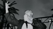 הרב מאיר כהנא, 1985 (צילום: משה שי)