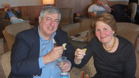 """טים ונינה זאגאט, מייסדי """"מדריך זאגאט"""" (צילום: אסתר דייסון, רשיון cc-by-nc-2.0)"""