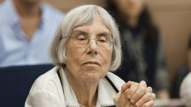 נשיאת מועצת העיתונות, השופטת בדימוס דליה דורנר (צילום: פלאש 90)