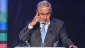 ראש ממשלת ישראל, בנימין נתניהו. לוד, 30.1.14 (צילום: טל שחר)