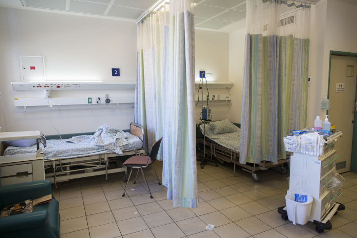 בית-החולים הדסה עין-כרם, 11.2.14 (צילום: יונתן זינדל)