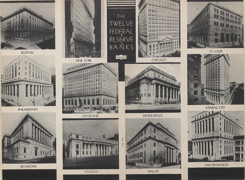 תריסר הבנקים הפדרליים, 1936