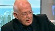 """עיתונאי """"ידיעות אחרונות"""" משה שיינמן מתארח בערוץ 10 (צילום מסך)"""