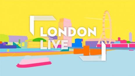 """לוגו """"לונדון לייב"""" מתוך סרטון פרסומת לערוץ"""