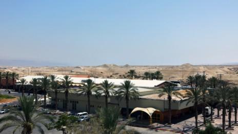 מעבר אלנבי בגבול עם ירדן (צילום: קובי גדעון)