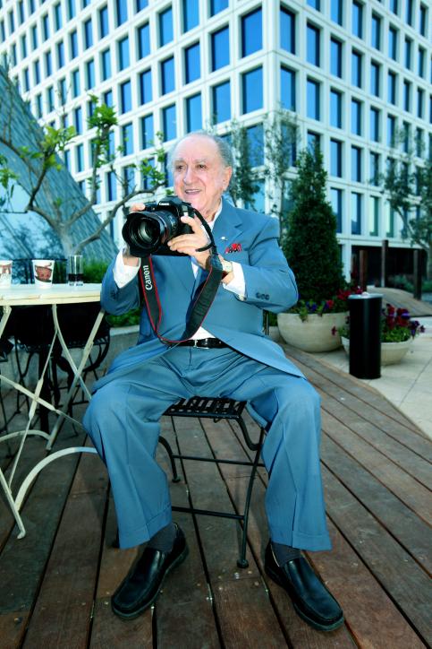 איש העסקים דוד עזריאלי, 2010 (צילום: משה שי)