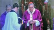 טקס האשכבה לטיטו וילאנובה בקתדרלת ברצלונה, מתוך השידור הישיר בערוץ הספורט