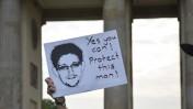 הפגנת תמיכה באדוארד סנודן, ברלין, יולי 2013 (צילום: לאקי קאט, רשיון cc-by-nc-nd)