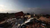 """מבנים שהרס צה""""ל במצפה יצהר, 15.11.11 (צילום: קובי גדעון)"""