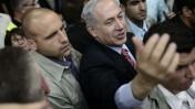 ראש ממשלת ישראל, בנימין נתניהו, בוועידת הליכוד. תל-אביב, 7.5.14 (צילום: תומר נויברג)
