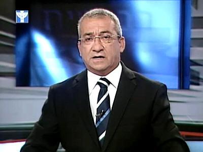 שלמה גנור, מנהל הטלוויזיה בערבית (צילום מסך)