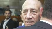 ראש הממשלה לשעבר אהוד אולמרט בבית המשפט, 13.5.14 (צילום: עמי שומן)