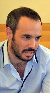 """יאיר טרצ'יצקי, יו""""ר ארגון העיתונאים בישראל (צילום: """"העין השביעית"""")"""