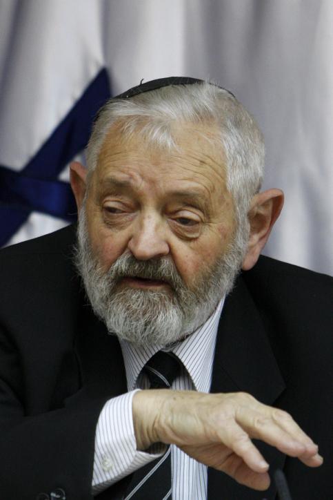 השופט צבי טל, נובמבר 2009 (צילום: מרים אלסטר)