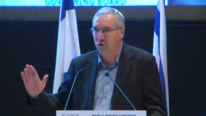 פרופסור ג'ראלד שטיינברג, נשיא NGO Monitor (צילום מסך)