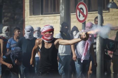 מהומות במזרח ירושלים, 2.7.14 (צילום: הדס פרוש)