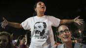 הפגנת נגד להפגנת שמאל נגד הגזענות בכיכר הבימה בתל-אביב, 3.7.14 (צילום: הדס פרוש)