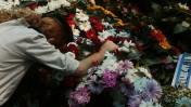 הלוויית קצין המילואים צפריר בר-אור שנהרג אתמול ברצועת עזה. חולון, 21.7.14 (צילום: מרים אלסטר)