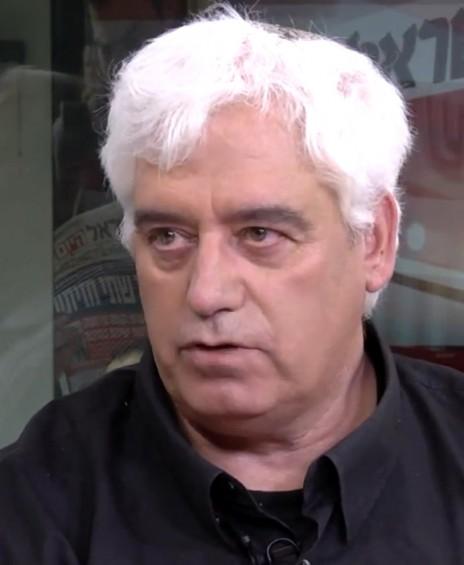 """גונן גינת (צילום מסך מתוך שידורי אולפן """"ישראל היום"""")"""