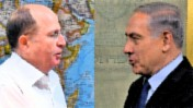 ראש הממשלה בנימין נתניהו ושר הביטחון משה יעלון (צילומים מקוריים: פלאש 90)