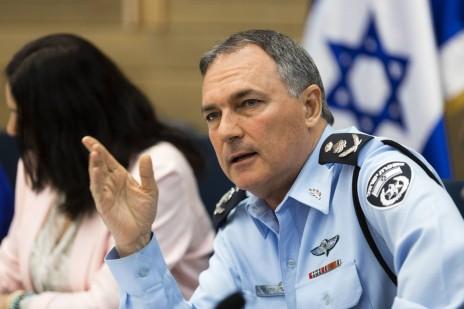 """מפכ""""ל משטרת ישראל יוחנן דנינו. 14.7.14 (צילום: פלאש 90)"""