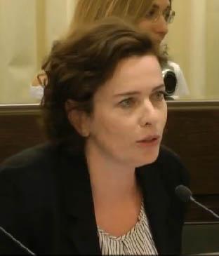 חברת מועצת העיר עינת קליש-רותם (צילום מסך)