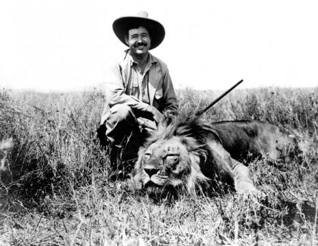 ארנסט המינגוויי באפריקה, 1934 (נחלת הכלל)